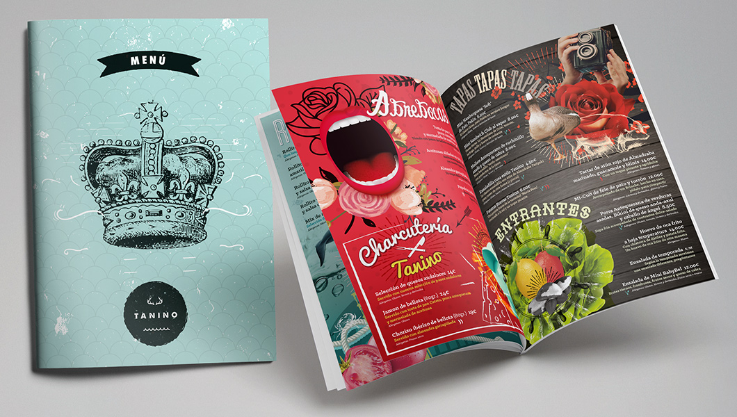 Tanino: menú creativo