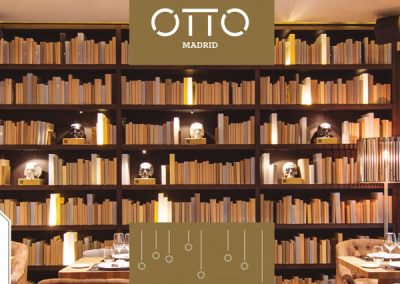 OTTO Madrid: diptico Navidad