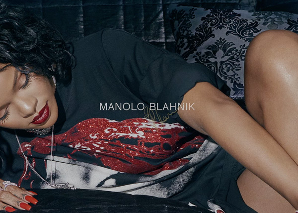 Manolo Blahnik Rihanna